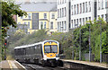 J3373 : Train, City Hospital station, Belfast - July 2014(2) by Albert Bridge