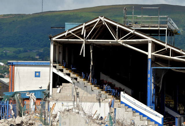 The South Stand, Windsor Park, Belfast - July 2014(2)