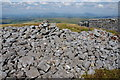 SD6060 : Pile of stones on High Stephen's Head by Bill Boaden