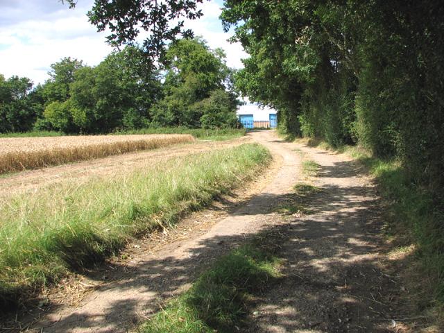Footpath to Bunn's Bank