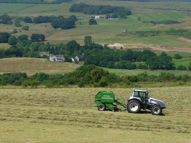 Baling Hay, Netherwood