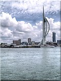 SZ6299 : Portsmouth Harbour and the Spinnaker Tower by David Dixon