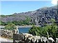 SH5859 : Slate workings, Llyn Peris reservoir by Alex McGregor