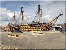 SU6200 : HMS Victory, Portsmouth by David Dixon