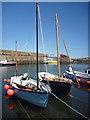 NT9167 : Coastal Berwickshire : Three Masts At St Abbs by Richard West
