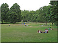 TQ2879 : Summer Sunday in Green Park by Free Man