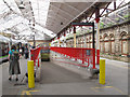 SJ7154 : Crewe station: exit to Weston Road car park by Stephen Craven