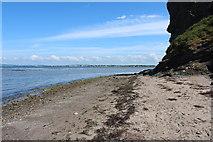 NS3119 : Shore below Greenan Castle by Billy McCrorie