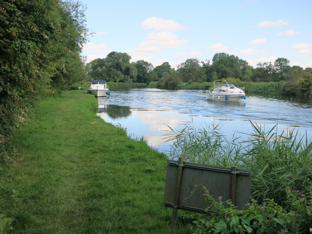 Moorings on the Great Ouse