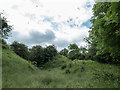 SO0451 : Builth Castle (mound),  Builth Wells, Powys by Christine Matthews