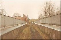 SJ9603 : Bridge to Holly Bank Colliery by John Winder