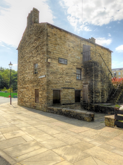 The Weavers' Cottage, Rawtenstall from Bacup Road