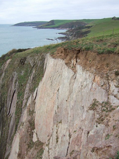 Cliff above Gull Cove