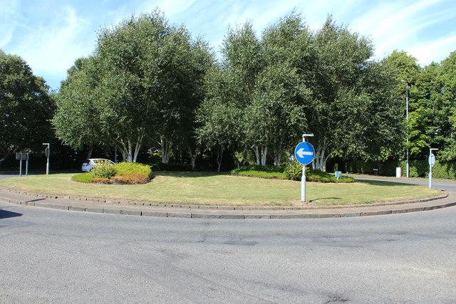 Roundabout at Earls Way, Doonfoot