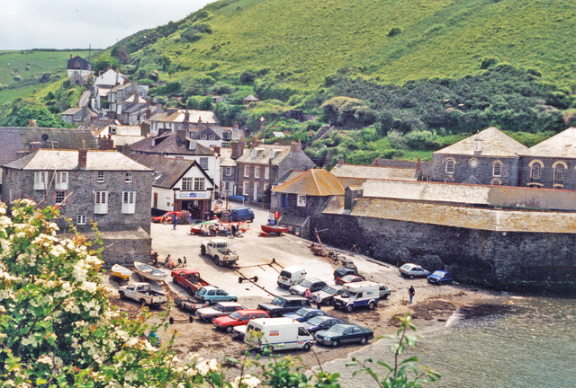 Port Isaac harbour, 1996