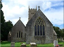 SO9700 : St Matthew, Coates: churchyard (D) by Basher Eyre