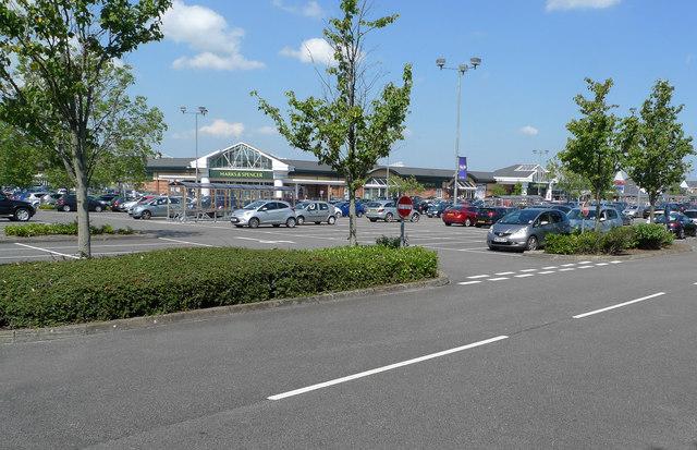 Car-park at Handforth Dean