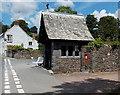 SN3011 : Lychgate, St Martin's Church, Laugharne by Jaggery