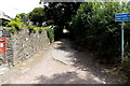 SN3011 : Unsuitable lane for wide vehicles, Laugharne by Jaggery