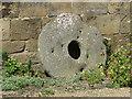NY9650 : Old millstone by Pauline E