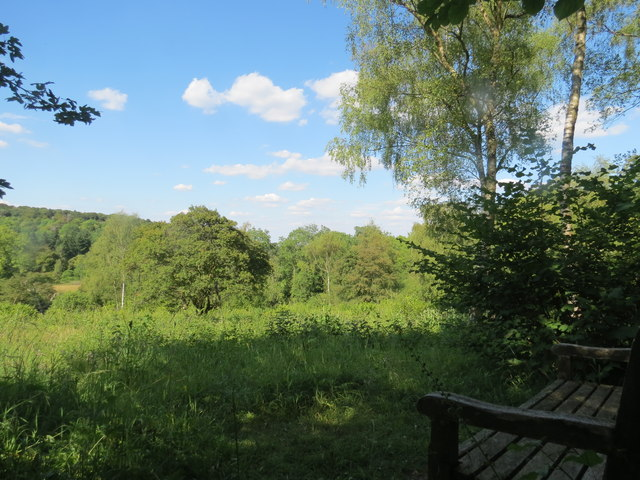 Looking over the Meadow Plots at Dancersend Reserve