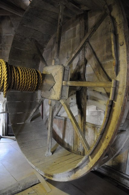 A Medieval Windlass 169 Philip Halling Geograph Britain