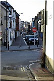 TQ4210 : Cliffe High Street from bottom of Chapel Hill by Robin Webster