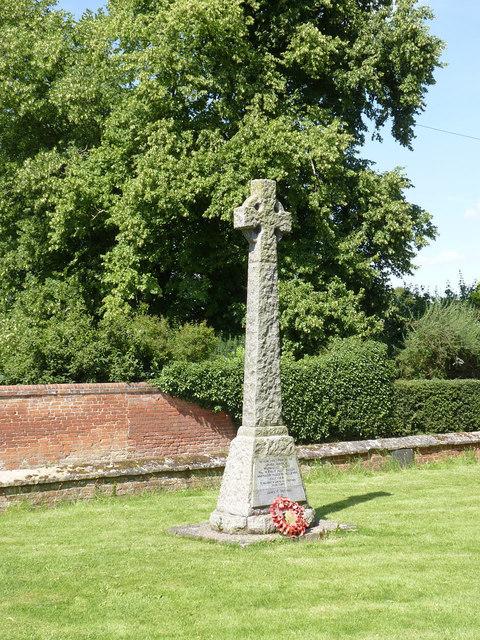 Norwell War memorial