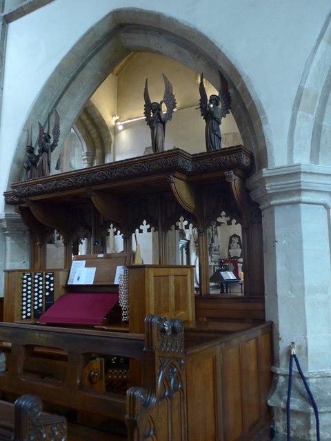 Inside St John the Baptist, Cirencester (25)