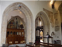 SP0202 : Inside St John the Baptist, Cirencester (28) by Basher Eyre