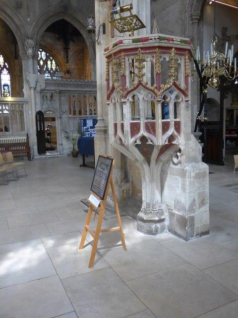 Inside St John the Baptist, Cirencester (35)