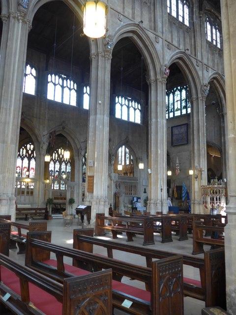 Inside St John the Baptist, Cirencester (45)