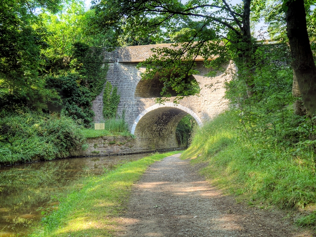 The Double Arched Bridge at East Marton