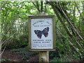 TQ7314 : Powdermills Trust sign at the Car Park in Powdermills Wood by PAUL FARMER