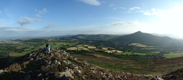Panorama from Little Sugar Loaf