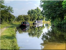SD9050 : Narrowboats at East Marton by David Dixon