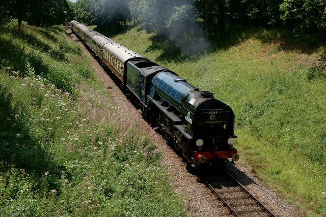 'Tornado' on the Bluebell Railway