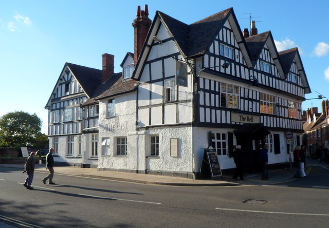 Late 17th century The Bell, Tewkesbury