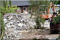 J2463 : Demolition, Knockmore, Lisburn (July 2014) by Albert Bridge