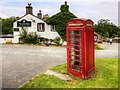 SD9050 : Telephone Box at The Cross Keys by David Dixon