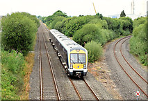J2463 : Train, Knockmore, Lisburn (July 2014) by Albert Bridge