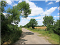 SP6607 : Road to Lower Farm Barns by Des Blenkinsopp