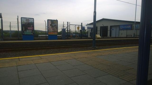 Sheffield Supertram depot