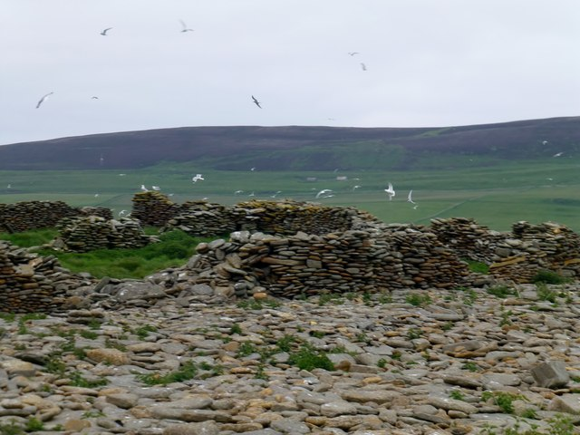 Ruined Dry Stone Walls