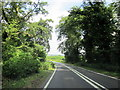 SO9565 : B4091 Hanbury Road Northbound Leaving Pipers Hill Wood by Roy Hughes