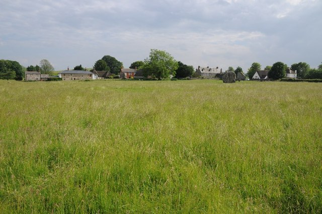 The village of Avebury