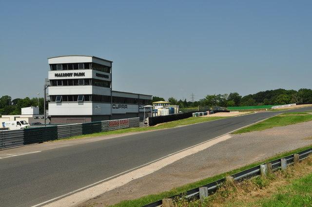 Mallory Park Race Control Centre