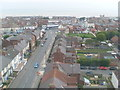 TA3327 : View from top of Withernsea Lighthouse (1) by David Hillas