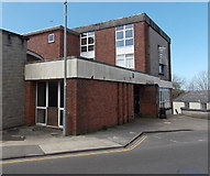 SM9515 : Temporarily closed library building in Haverfordwest by Jaggery