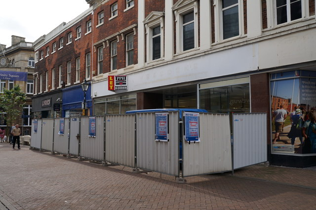 Boyes move into the former Woolworth's Store